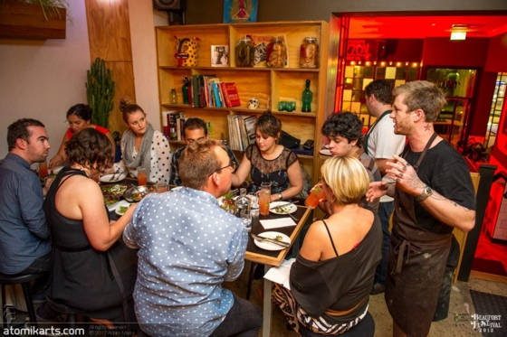 Photo supplied by Beaufort Street Festival - Roving Dinner 2012